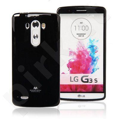 LG G3 mini dėklas JELLY Mercury juodas