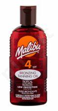 Malibu Bronzing Tanning Oil, Sun kūno losjonas moterims, 200ml