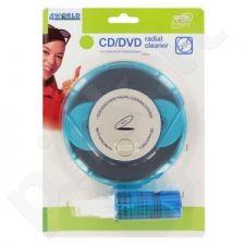 4World CD/DVD Radial Cleaner - kompaktinių diskų valymo įrenginys