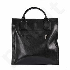 DAN-A T233 juoda rankinė iš natūralios odos , moteriška