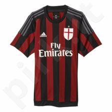 Marškinėliai futbolui Adidas AC Milan Home Replica Player Jersey M S11836