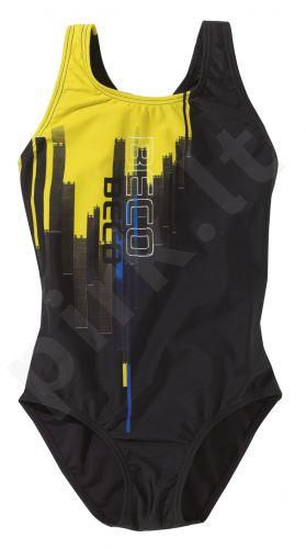 Maudimosi kostiumėlis mergaitėms 4618 20 128 black/yellow