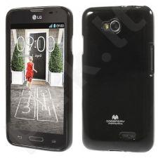 LG L65/L70 dėklas JELLY Mercury juodas