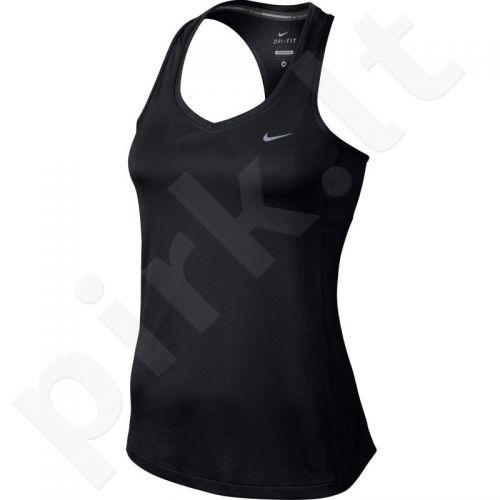 Marškinėliai bėgimui  Nike Miler Tank W 686880-010