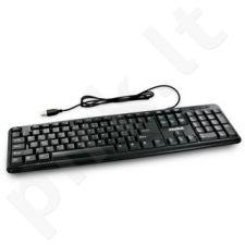 Klaviatūra 4World USB Juoda