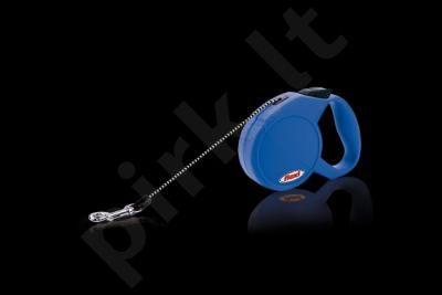FLEXI MINI CLASSIC (XS) 3m mėlynas iki 8 kg