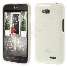 LG L65/L70 dėklas JELLY Mercury baltas