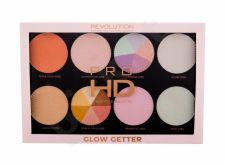 Makeup Revolution London Pro HD, Glow Better, skaistinanti priemonė moterims, 32g