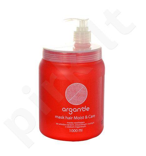 Stapiz Argan De Moist & Care plaukų kaukė, kosmetika moterims, 1000ml