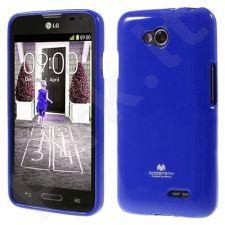 LG L65/L70 dėklas JELLY Mercury mėlynas