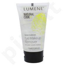 Lumene Natural Code Skin Purifier akių makiažo valiklis, kosmetika moterims, 75ml