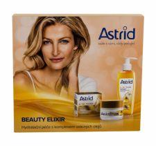 Astrid Beauty Elixir, rinkinys dieninis kremas moterims, (Anti-Wrinkle Daily Facial kremas 50 ml + Silk Cleansing Facial Oil 145 ml)