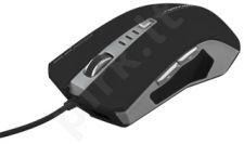 Optinė pelė Esperanza EM122K DRAGON USB| 800/1600/2400 DPI | 6D| Juoda