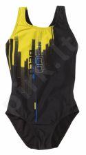 Maudimosi kostiumėlis mergaitėms 4618 20 164 black/yellow