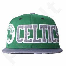 Kepurė  su snapeliu Adidas Flat Cap Celtics AY6122