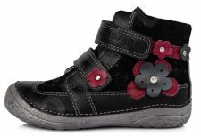 D.D. step juodi batai 25-30 d. 03072