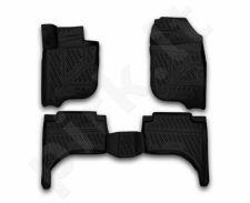 Guminiai kilimėliai 3D MITSUBISHI L200 2015->, 4 pcs. /L48002