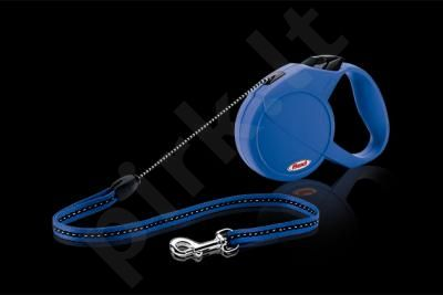 FLEXI CLASSIC (M)  5m mėlynas iki 20 kg