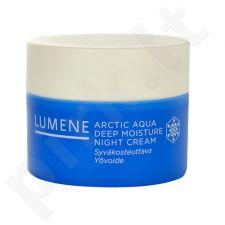 Lumene Arctic Aqua Deep Moisture naktinis kremas, kosmetika moterims, 50ml