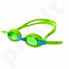 Plaukimo akiniai Allright Madera Kids žalia