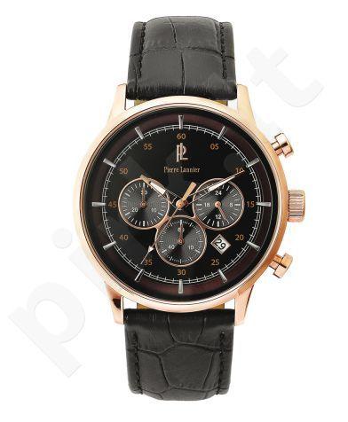 Laikrodis Pierre Lannier chronografas. S.steel/oda 22mm. Miyota 44mm. 5 ATM