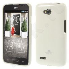 LG L80 dėklas JELLY Mercury baltas