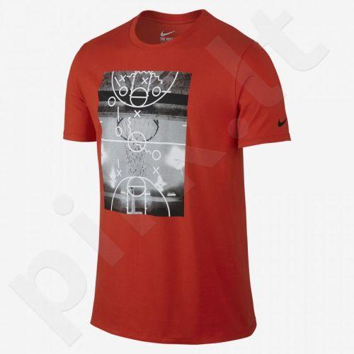 Marškinėliai Nike Court Plays M 778488-696