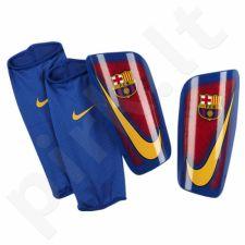 Apsaugos blauzdoms futbolininkams Nike Mercurial Lite FC Barcelona SP2090-633