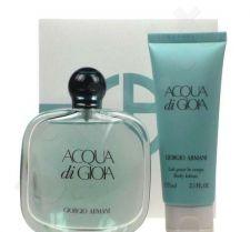 Giorgio Armani (EDP 100 ml + 75 ml kūno losjonas) Acqua di Gioia, rinkinys moterims
