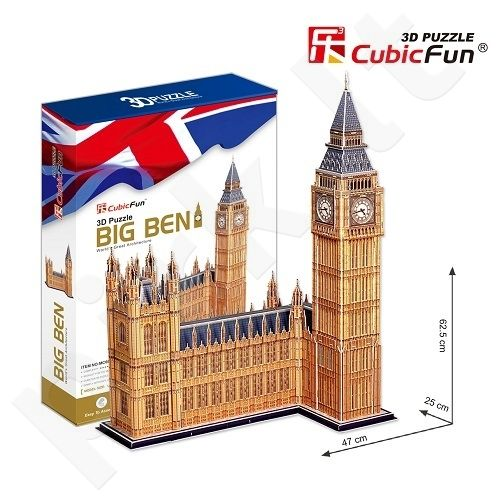 3D dėlionė: Big Benas (XXL)