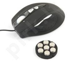 Optinė pelė Esperanza EM118 skirta žaidėjams USB| 800/1600/2400 DPI |9D