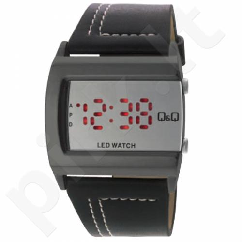 Universalus laikrodis Q&Q LED laikrodis M101J501Y