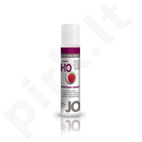 System JO - H2O lubrikantas Avietinis šerbetas 30 ml