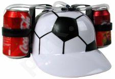 Alaus šalmas - futbolo kamuolys