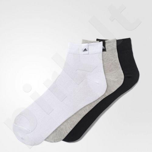 Kojinės Adidas Performance LA Ankle 3 poros AA2485