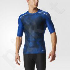Marškinėliai kompresiniai Adidas Techfit Chill GTX SS M AJ6087