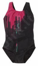 Maudimosi kostiumėlis mergaitėms 4618 40 164 black/pink