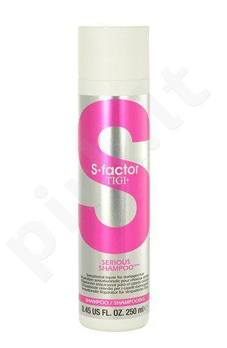 Tigi S Factor Serious šampūnas, kosmetika moterims, 250ml