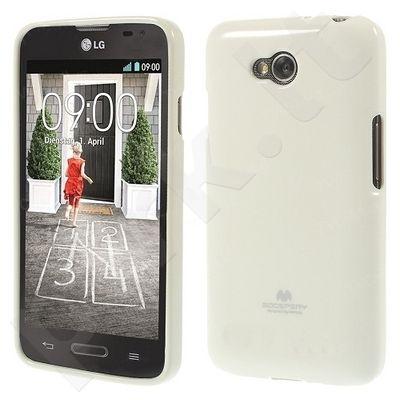 LG L90 dėklas JELLY Mercury baltas