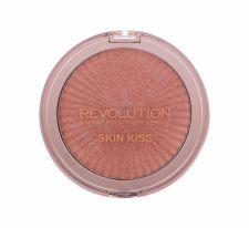 Makeup Revolution London Skin Kiss, skaistinanti priemonė moterims, 14g, (Peach Kiss)