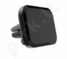 Gembird Magnetic car smartphone holder, black