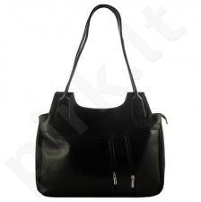 DAN-A T1 juoda rankinė iš natūralios odos , moteriška