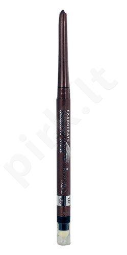 Rimmel London Exaggerate Smoke N Shine, akių kontūrų priemonė, kosmetika moterims, 0,28g, (002 Copper Bling)