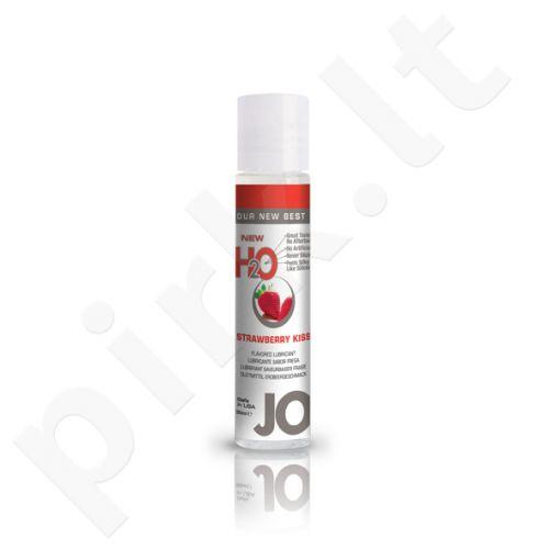 System JO - H2O lubrikantas Braškių bučinys 30 ml