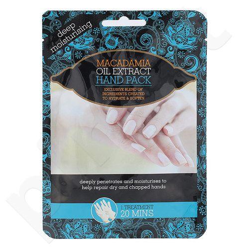Xpel Makadamijos riešutų aliejus, gydymo pirštinės rankoms, kosmetika moterims, 1vnt