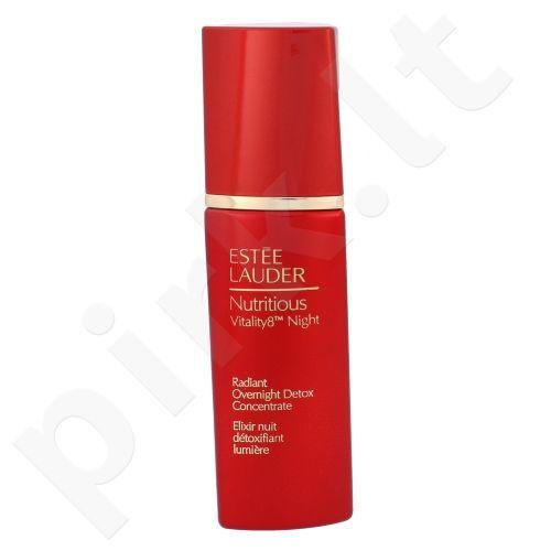 Esteé Lauder Nutritious Vitality8 detoksikuojantis naktinis veido koncentratas, kosmetika moterims, 30ml