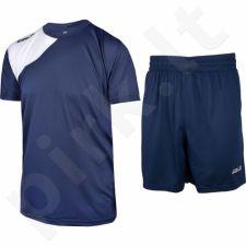 Komplektas futbolininkui COLO Fever 15 tamsiai mėlyna-baltas