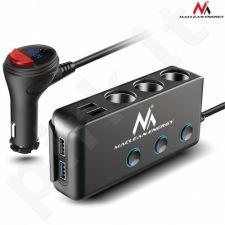 Maclean MCE218 SHUTTER SOCKET 12-24V 4xUSB PD QC