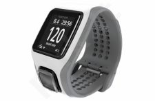 TomTom Runner Cardio white/light grey