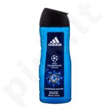 Adidas UEFA Champions League Champions Edition, dušo želė vyrams, 400ml